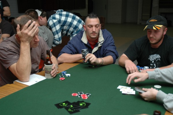 Running poker night